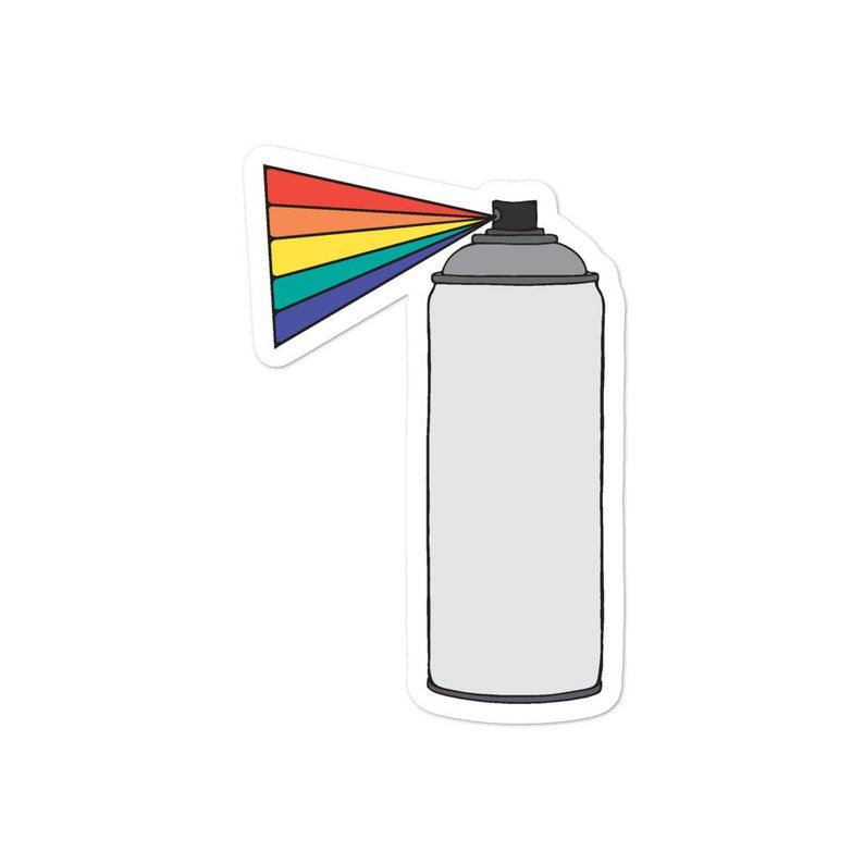 Rainbow Spray Paint Can Sticker Etsy In 2020 Spray Paint Cans Spray Paint Stickers