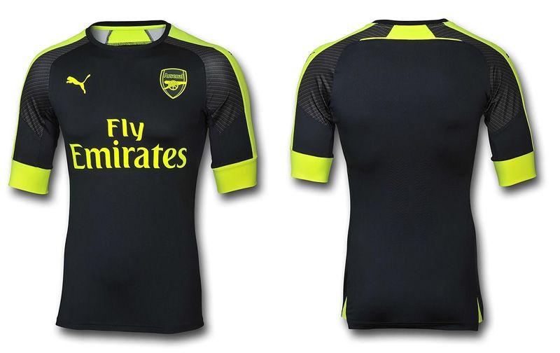 Camisas do Arsenal 2016-2017 Puma Terceira 73d159863232c