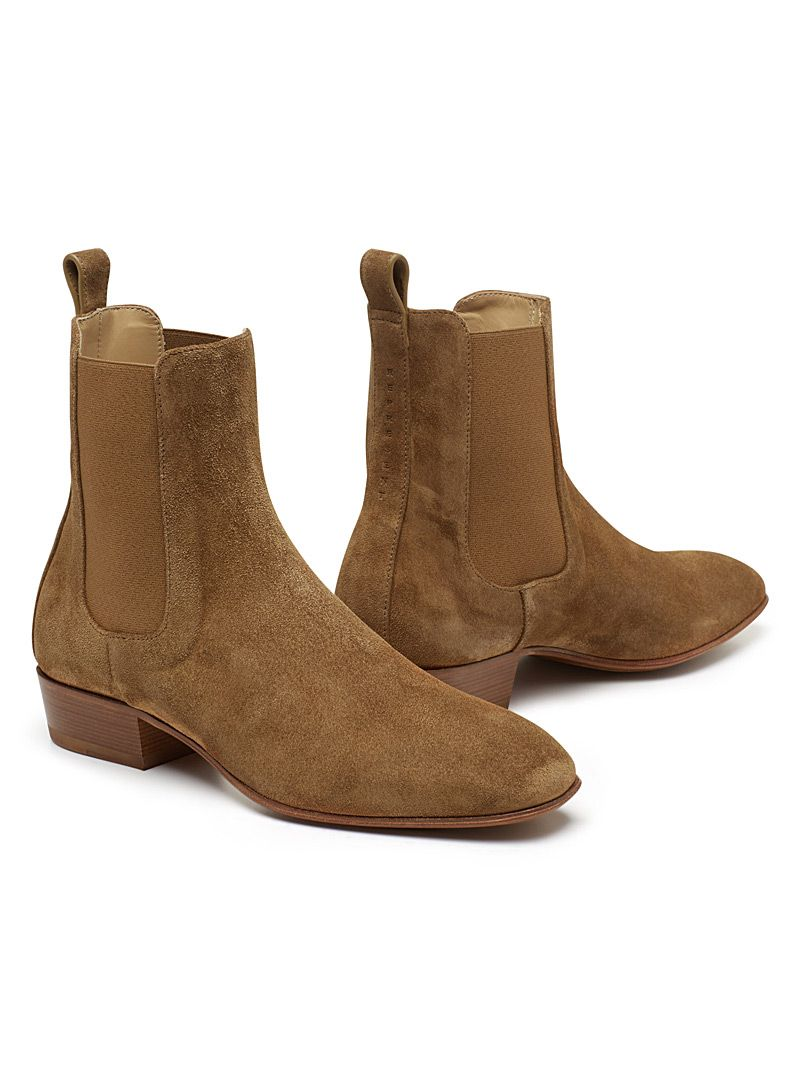 Cigaro Suede Chelsea Boots Simons Maisonsimons Boots Fashion Men Represent Chelseaboot Mens Boots Online Chelsea Boots Men Outfit Boots
