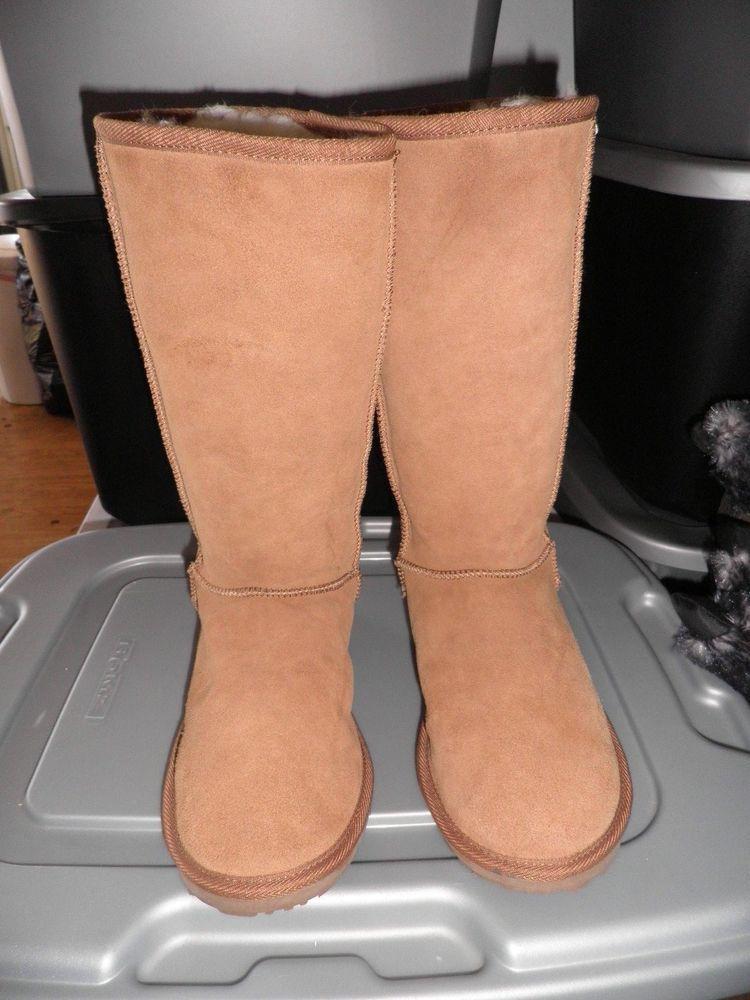 9958f09e016 Emu Tall Tan Boots W 10/ M9 #EMU #Tall | If the Shoe Fits - Buy it ...