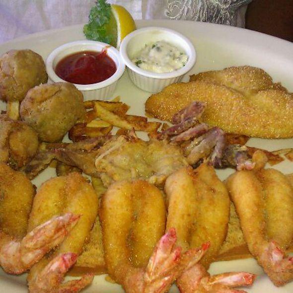 Gaido S Seafood Platter Galveston