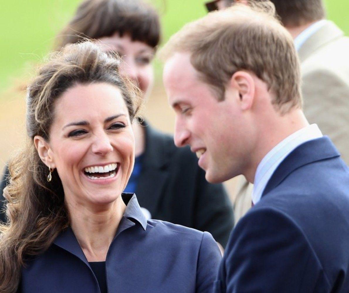 Kate Middleton's big smile :-)