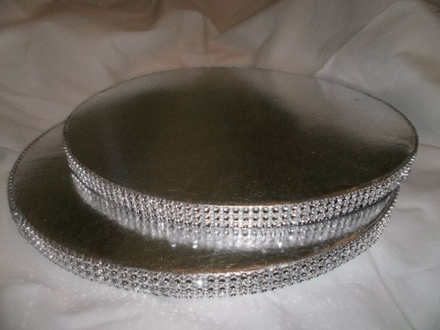12 Round Rhinestone Cake Stand Cake Base Bling Display base Bling