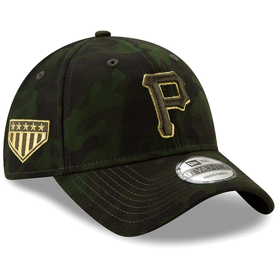 newest 17d24 e9947 Pittsburgh Pirates New Era 2019 MLB Armed Forces Day 9TWENTY Adjustable Hat  - Camo, Your