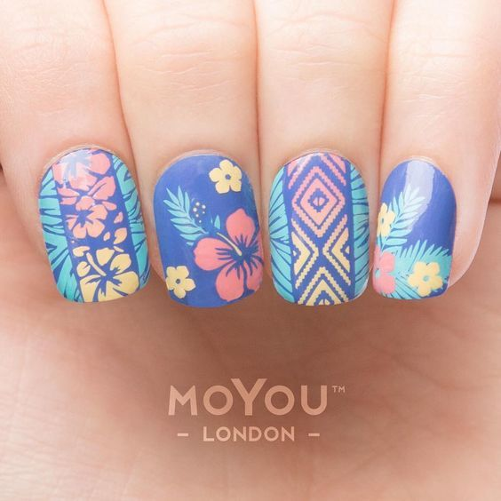 Keeping Summer Alive For A Little Longer Join Uake Your Nails Tropical