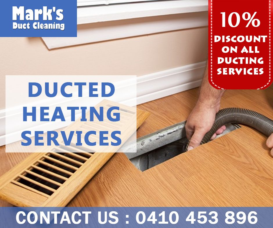 Get 10 Discount on Any Ducting Service