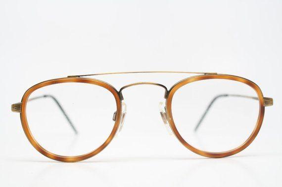 01050c11532 Aviator Glasses Vintage Eyeglasses Frames 1980 s vintage eyewear NOS  Deadstock Vintage Eyeglasses