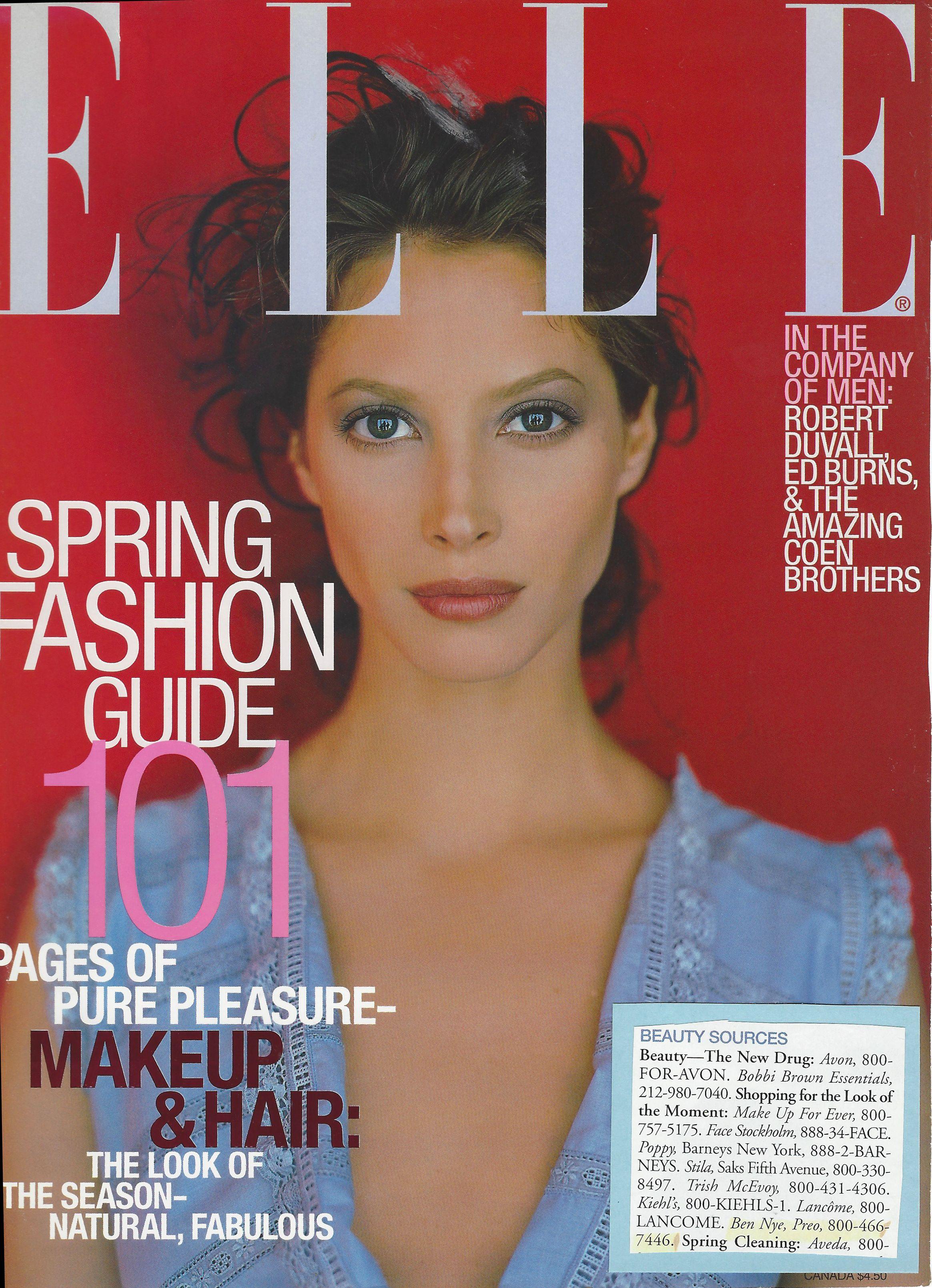 Elle Magazine shopping guide! Shop Alcone! Online