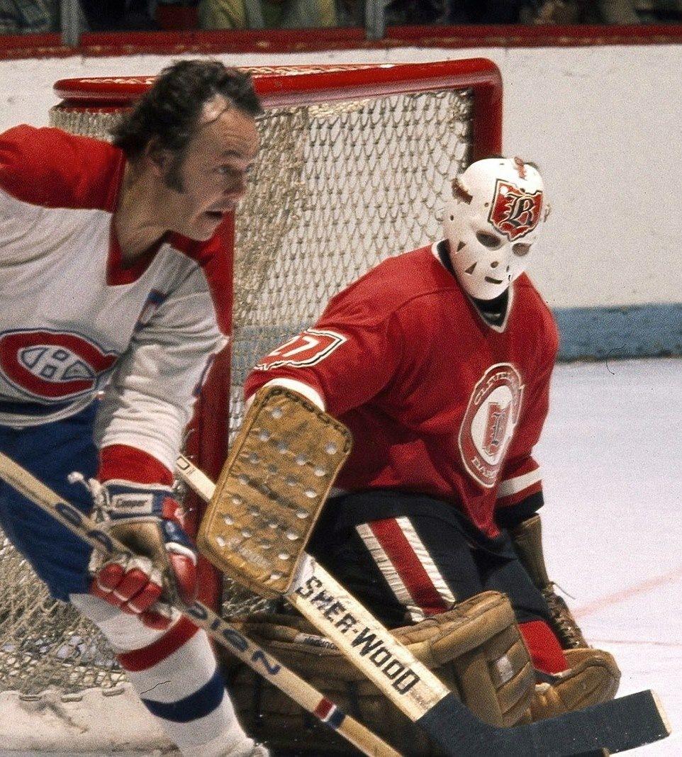 Gilles Meloche Goalie mask, Hockey goalie, Ice hockey