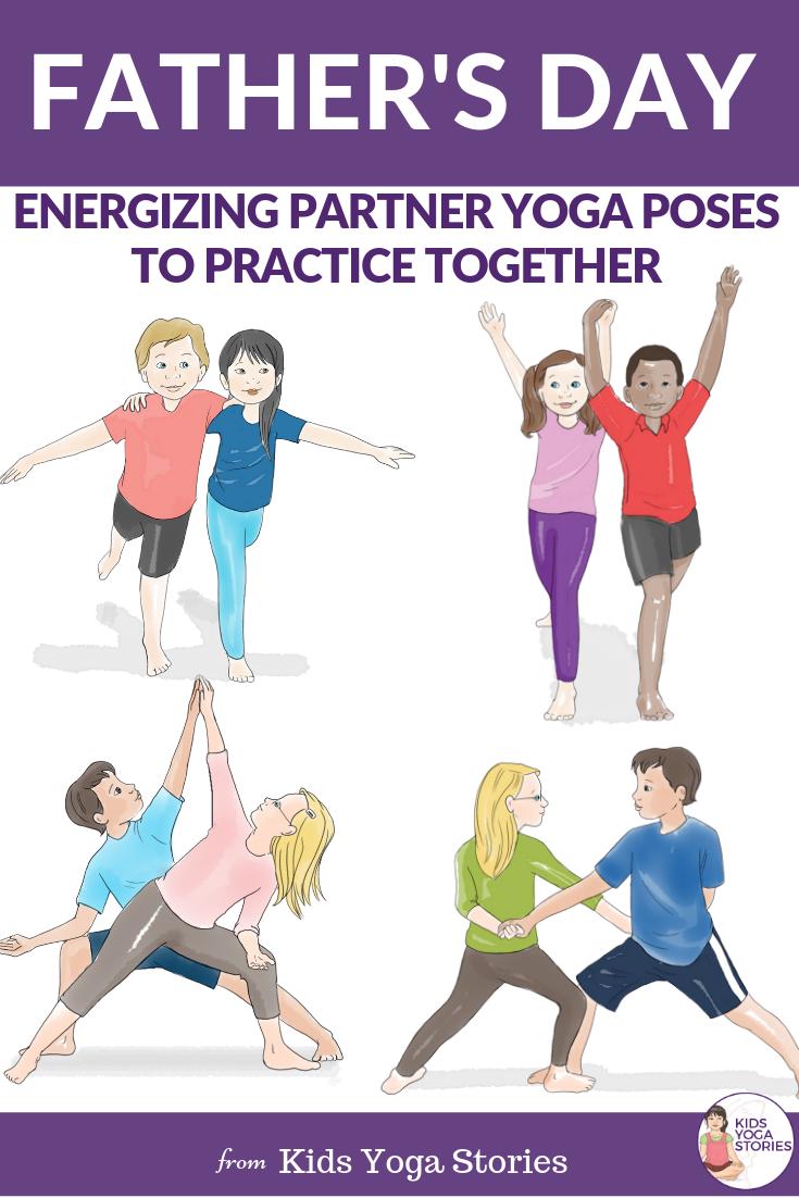32++ Partner yoga poses for kids inspirations