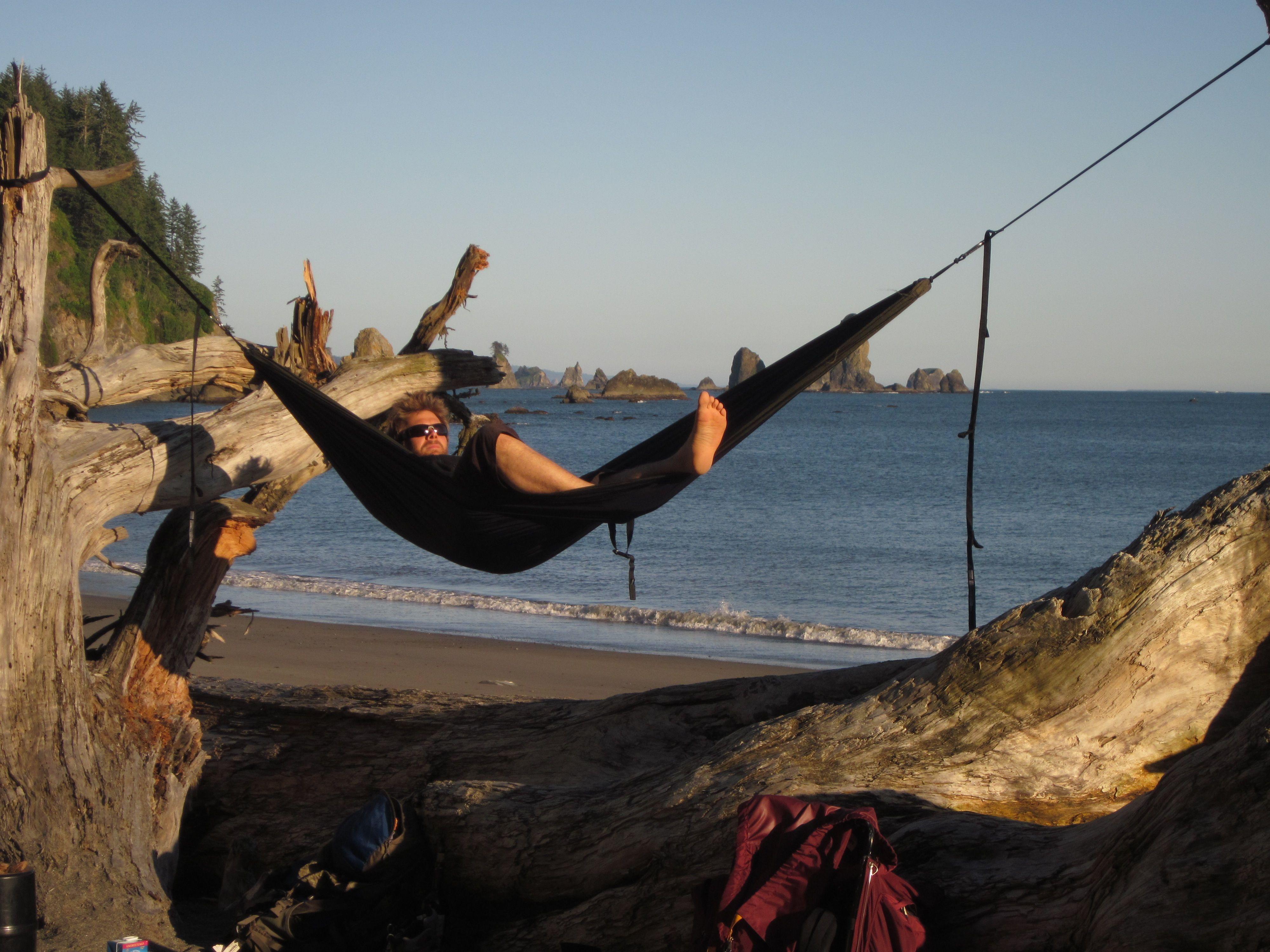 Backpacking On Olympic Peninsula Coast