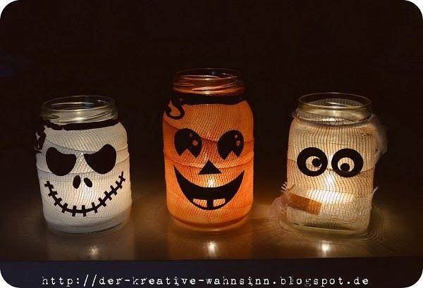 Der kreative Wahnsinn: Last Minute Halloween Deko und ein ... (Der kreative Wahnsinn) #halloweendekobasteln