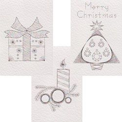 Form A Lines Christmas Set No 20 Patterns Comes With Numbered