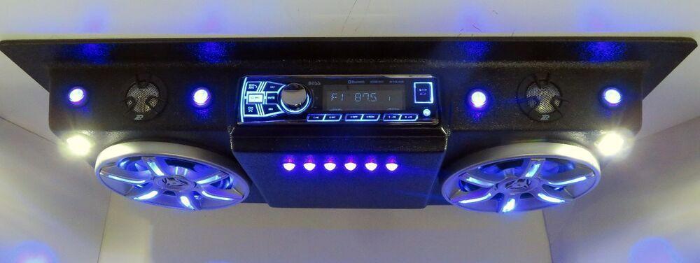 Polaris Razor Rzr Golf Cart Utv Yamaha Club Car Roof Mount Stereo Radio 96 Polaris Rzr Accessories Rzr Accessories Rzr