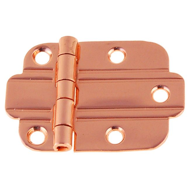 Art Deco Flush Cabinet Hinge Polished Copper  sc 1 st  Pinterest & Art Deco Flush Cabinet Hinge Polished Copper | this is a metal ...
