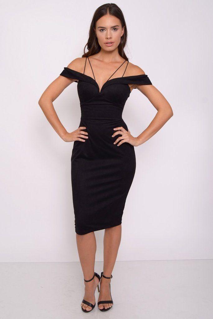 Vestido Negro,BlacK Dress with lacet - 1001noches