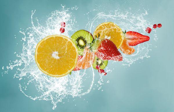 ada fruit water with fruit
