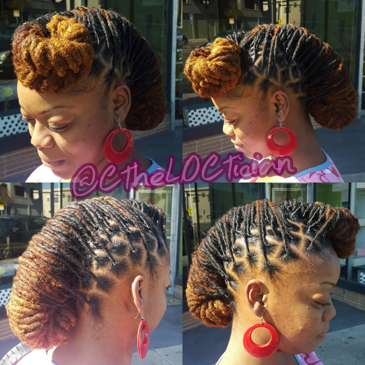 Locs Locs With Color Ombre Wedding Hair Loc Styles Updos Loc Updos Nice Locs Beautiful Locs Beautifu Hair Styles Long Hair Styles Men Long Hair Styles