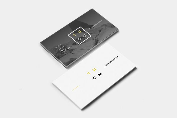 here we are showcasing 75 minimalist business cards that will help