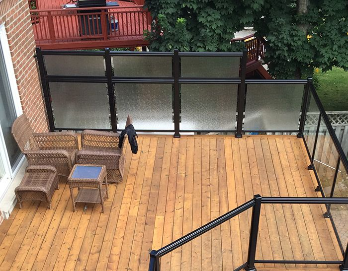 Privacy Panels Railings Outdoor Privacy Panels Glass Railing