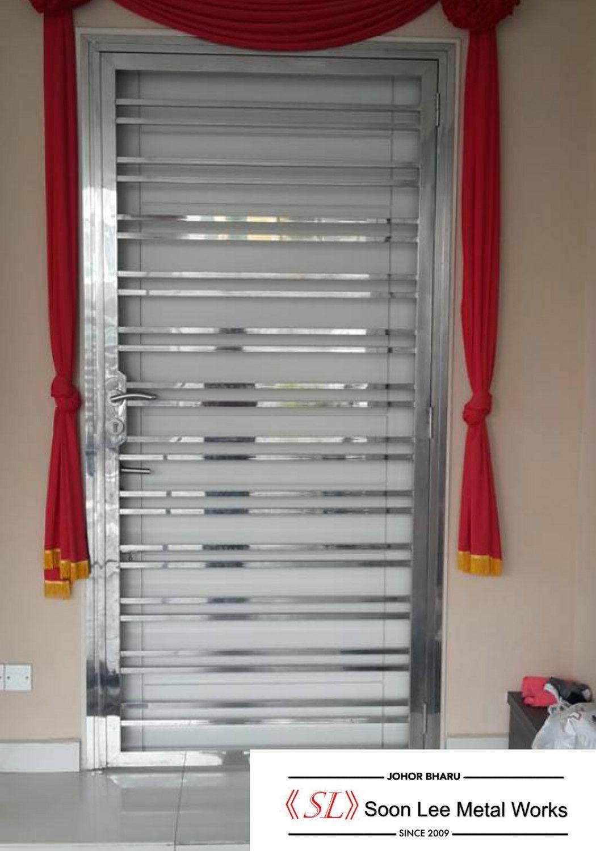 Stainless steel door grill gates pinterest stainless steel