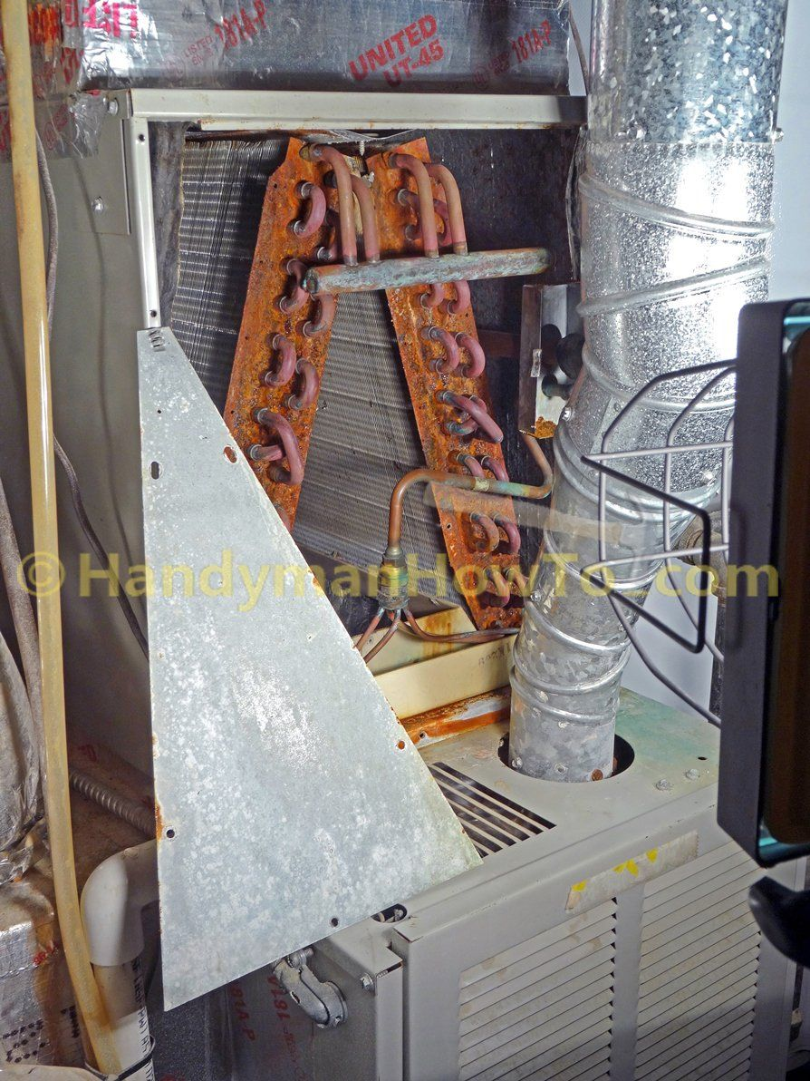 How to clean inside of AC evaporator coils photo tutorial