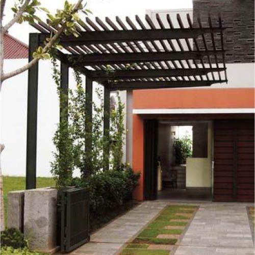 Inspiring Pergola Garage 6 Architectural Design Carport: Vous Souhaitez Un Carport Discret ? Pourquoi Ne Pas Opter
