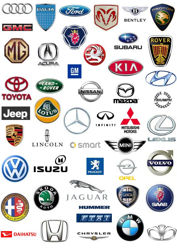 Car Brand Logos Car Brands Logos All Car Logos Car Logos