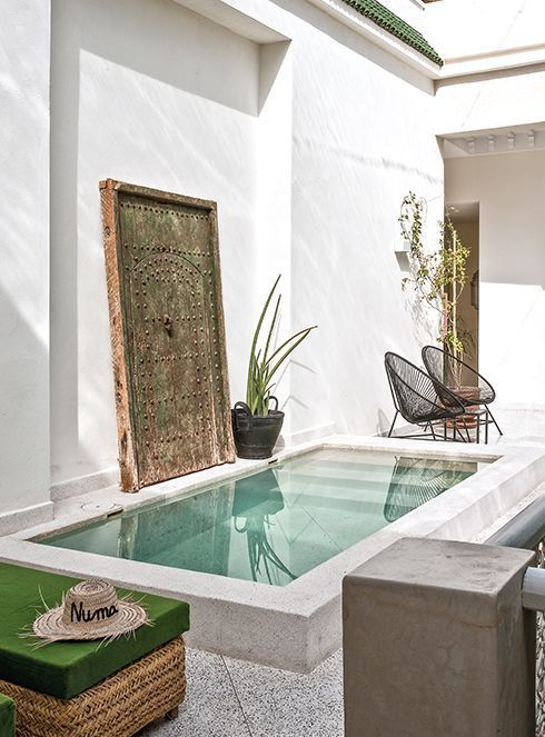 An elegant and contemporary riad - PLANETE DECO a h - conservatory ideas