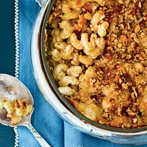 Four-Cheese Macaroni | 102 Best Thanksgiving Side Dish Recipes - Southern Living Mobile