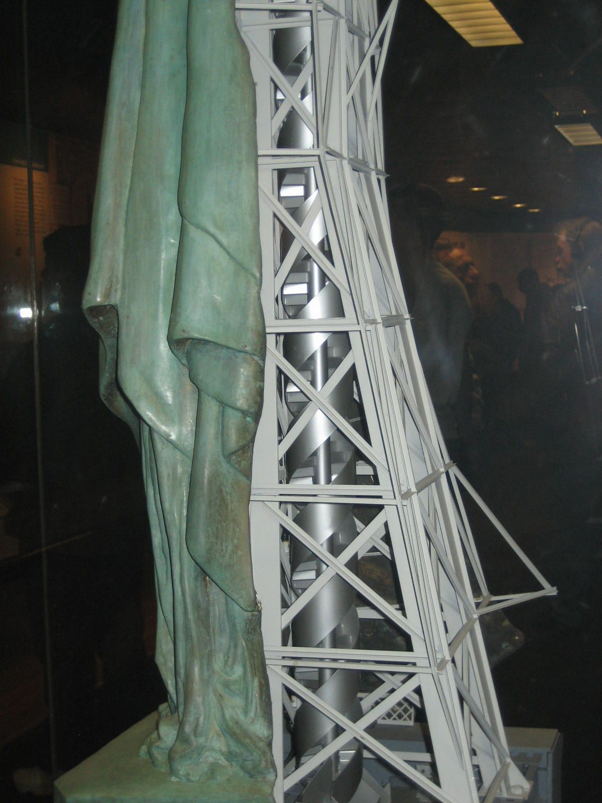 Stair Case Frame Statue Of Liberty Statue Of Liberty Statue