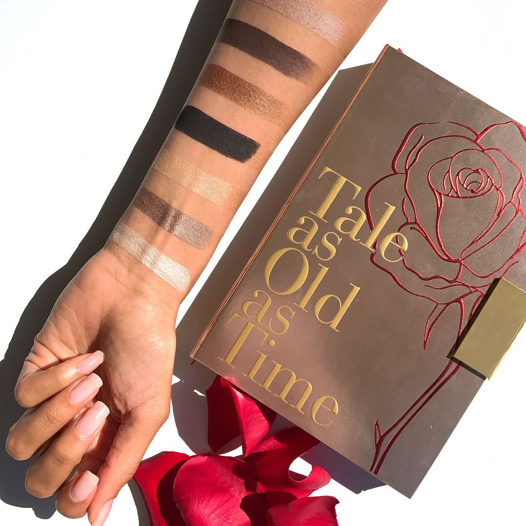 Lorac Beauty and the Beast eyeshadow palette Beauty and