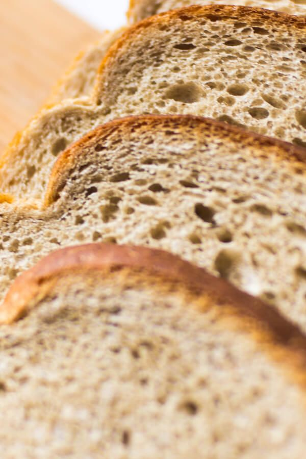 Buttermilk Honey Wheat Bread Made With Active Dry Yeast Whole Wheat Flour All Purpose Flour Baking Soda In 2020 Honey Wheat Bread Honey Wheat Wheat Bread Recipe