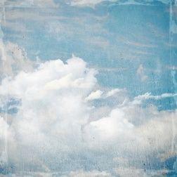 Comme Un Ciel Bleu Et Nuageux Issu De La Renaissance