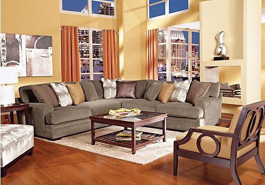 Cindy Crawford Fontaine Brown 6pc