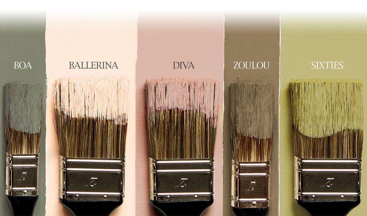 Nouvelles teintes flamant les couleurs tendances et for Peinture couleur tendance