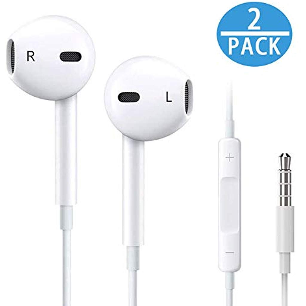 Waterproof Wireless Earbuds w//Mic in-Ear Buds for Running Sport Workout Bluetooth Headphones 12Hrs Play Sweatproof Headsets Compatible w//iPhone Samsung Cell Phones Noise Cancelling Earphones