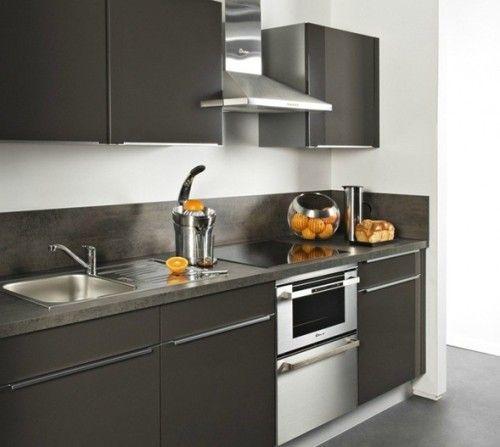 Cocinas lineales modernas cocinas modernas pinterest for Cocinas lineales