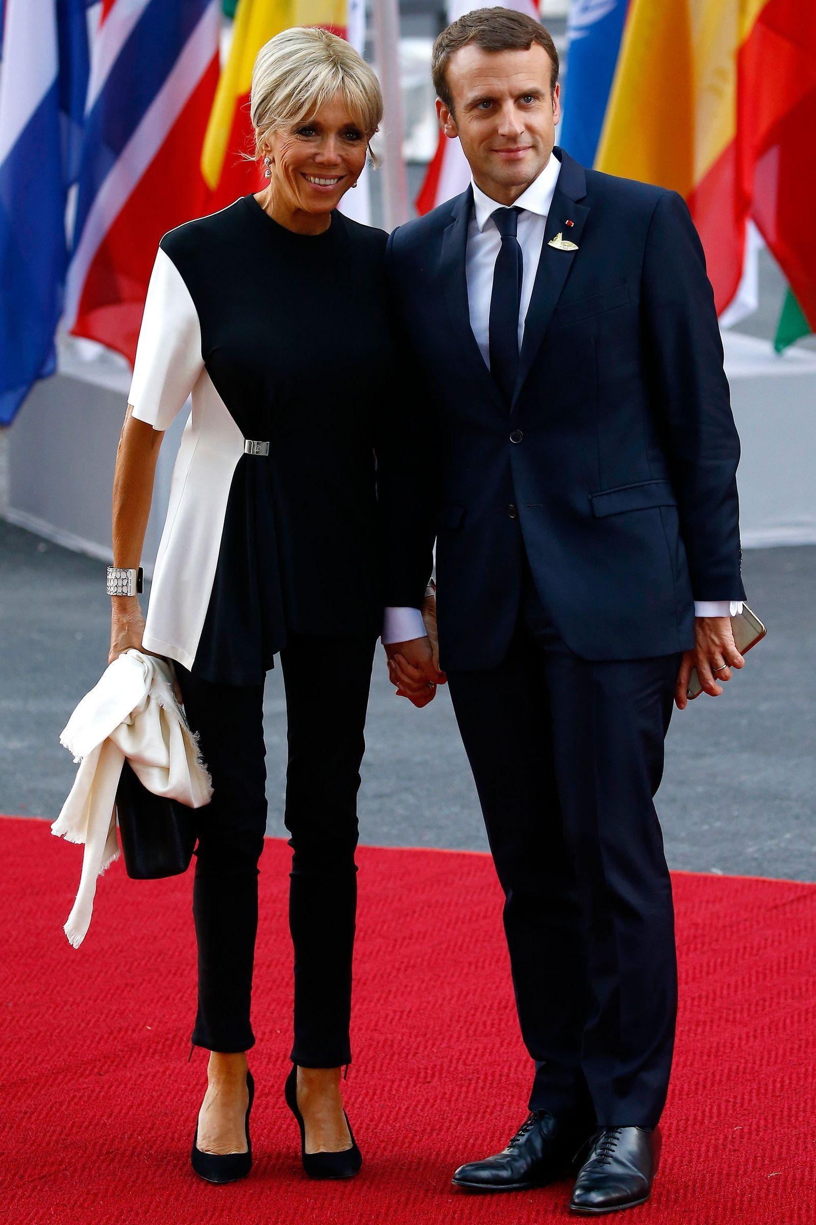 Brigitte Macron Addresses Her And Emmanuel Macron S Age Gap French First Lady First Lady Brigitte
