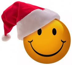 santa smiley face pinteres rh pinterest com happy face christmas clip art happy face christmas clip art