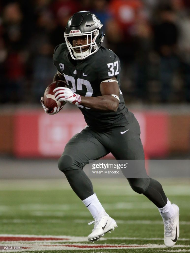 James williams of the washington state cougars moves the