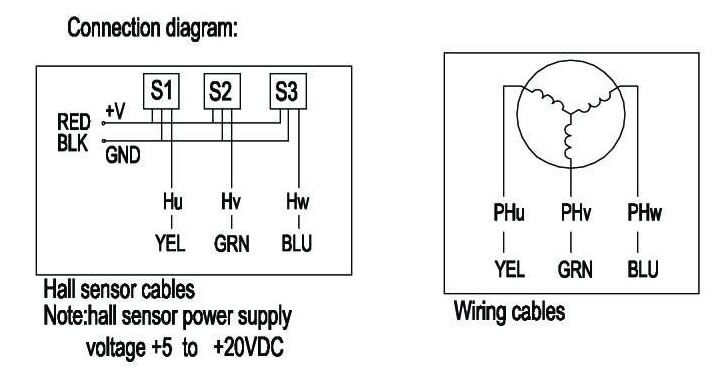on dc brushless motor wiring diagram