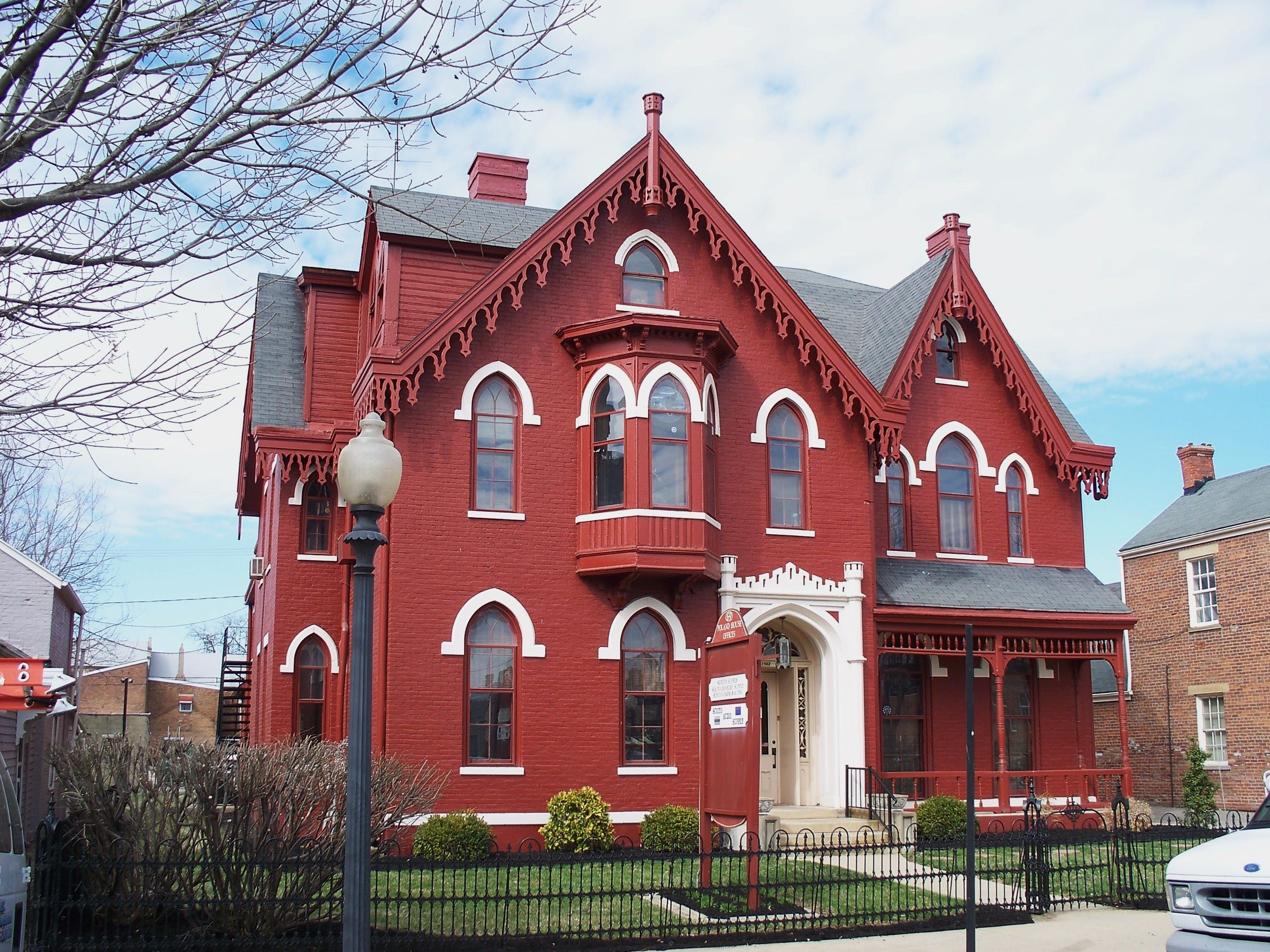 Chilleclothe Ohio Gingerbread House Victorian Homes House Chillicothe
