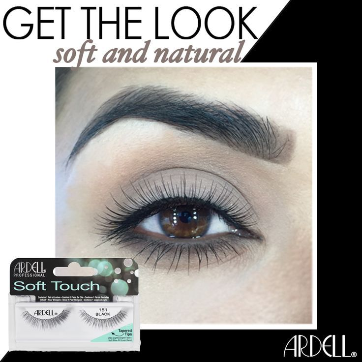 0698e78be71 Ardell's new Soft Touch #151 lashes are so lavishly soft and natural  looking, everyone will wonder if you're going faux or not. #falseeyelashes  #falselashes