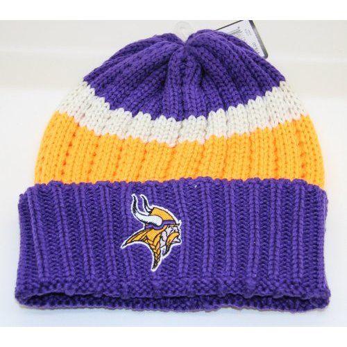 Minnesota Vikings Knit Beanie Cap Viking Knit 414053e5a50