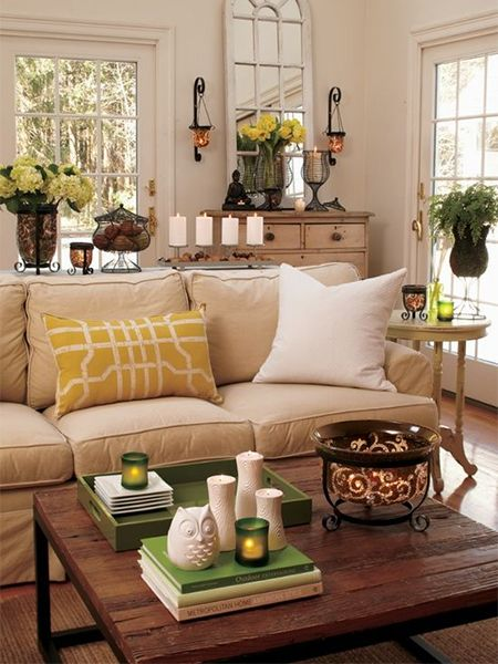 Home Decor Ideas How To Style A Coffee Table With Splashes Of Colour Http