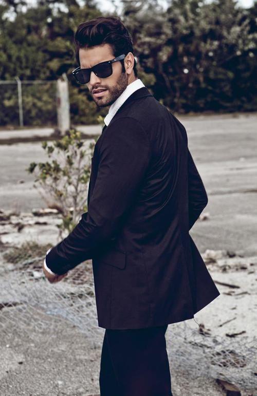 9d6742ca2ef Mens black suit