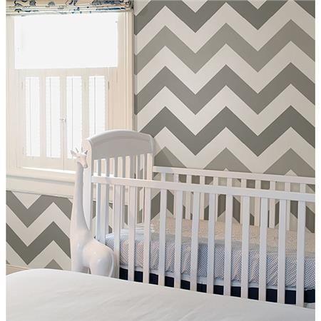Nuwallpaper Chevron Grey Online Baby Store Canada Bo Bebe Peel And Stick Wallpaper Nuwallpaper Zig Zag Wallpaper