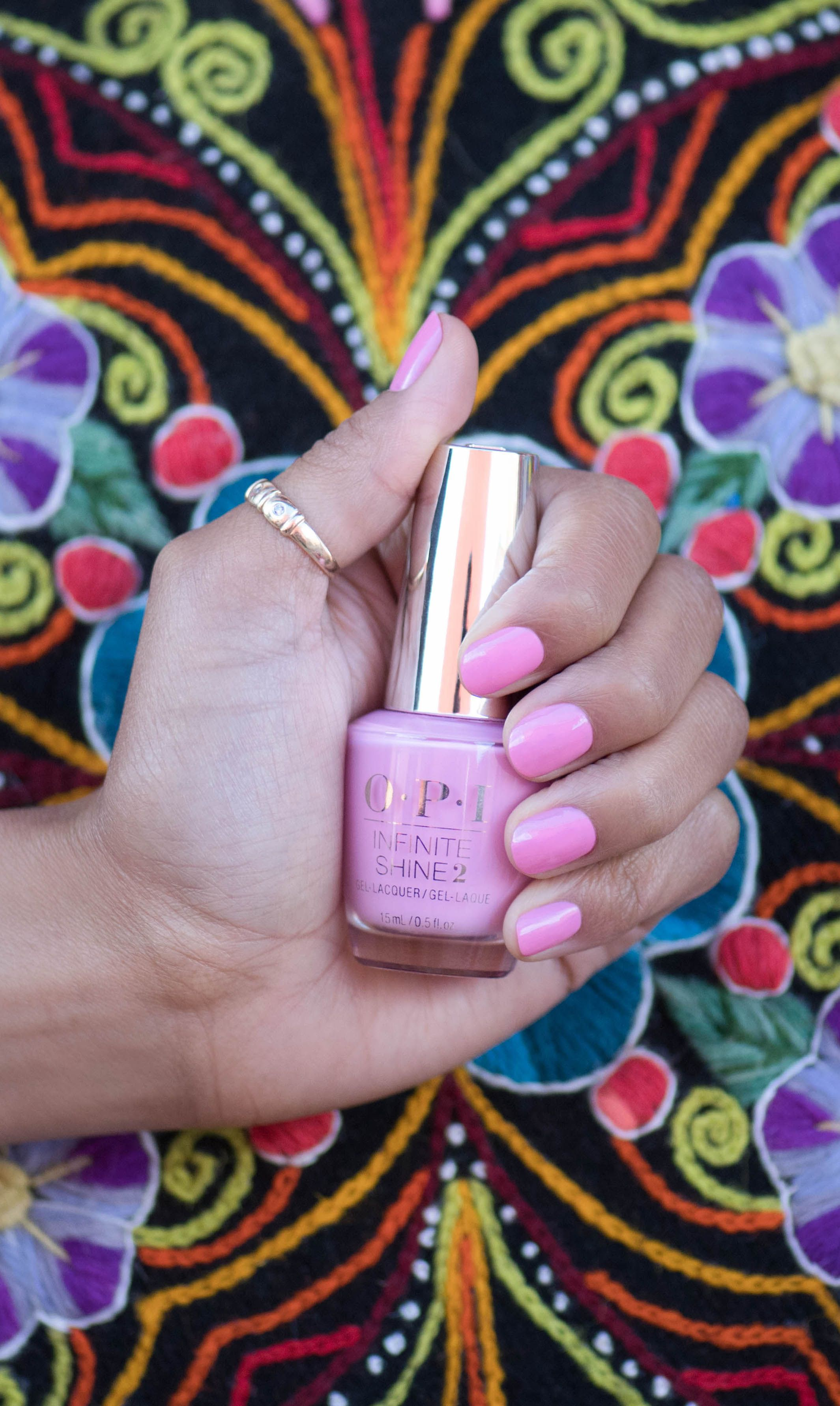Opi Infinite Shine You Can Count On It Give Yourself Globally Recognized Nails When You Try Out The Pink Shades Of Seven Wonders Of Opi I Opi Nail Colors Fall Nail Colors Opi Long Wear Nail Polish