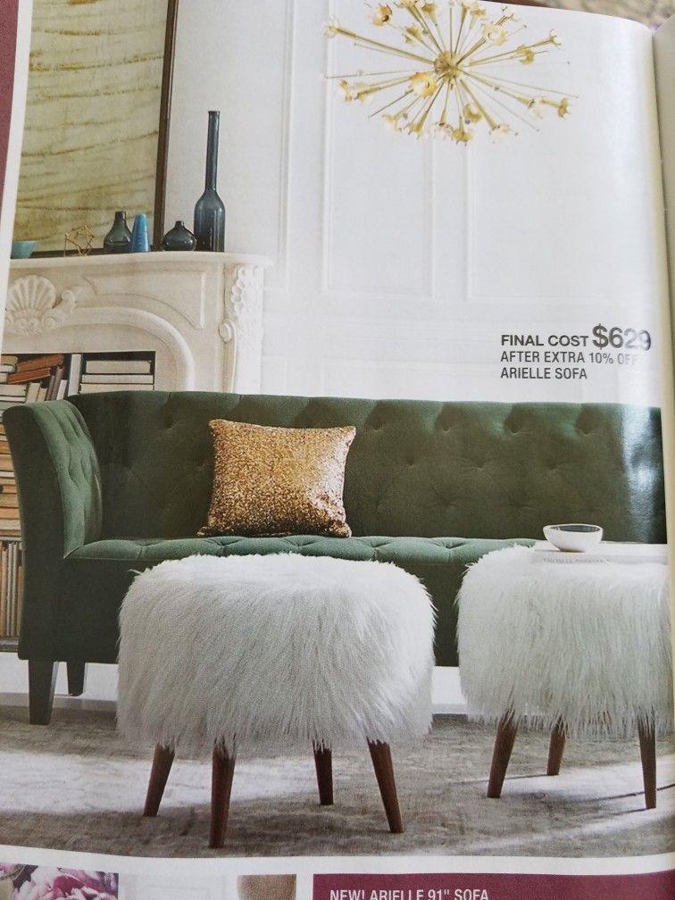 Macy S Arielle Sofa 91 Or 76 Living Room